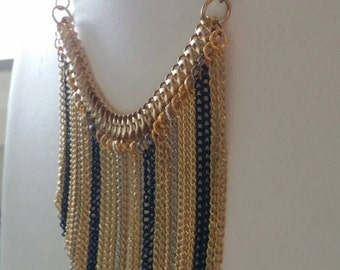 Chain Fringe Necklace