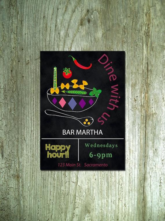 rustic dinner invitation printable dinner party invites etsy