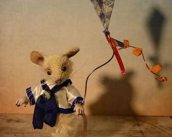 Nutmeg the mouse, OOAK ART