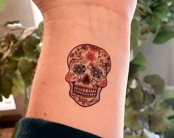 Sugar Skull Tattoos Etsy