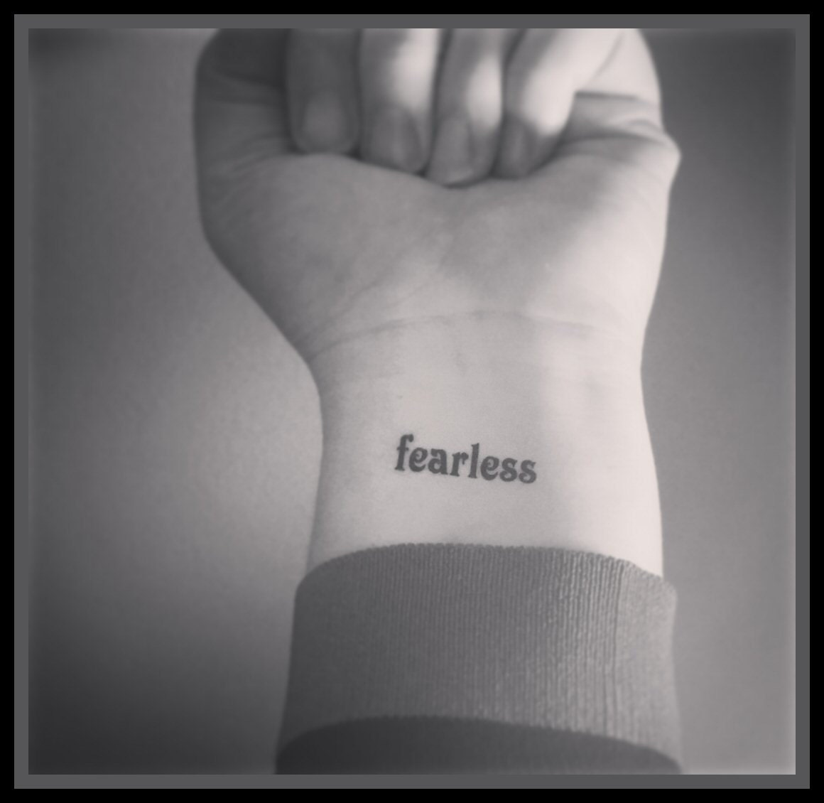 Image result for word tattoos wrist