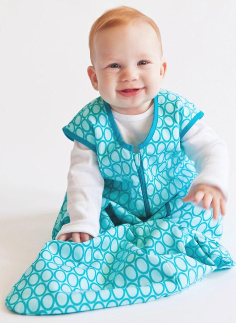 online store 91333 d773f Bora Bora, Summer Baby Sleep Sack - Handmade sleeping bag in European Style  100% cotton, Soft and Durable, Best baby gift