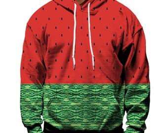 Wtermelon Hoodie   Rave, EDM, Festival Hoodie