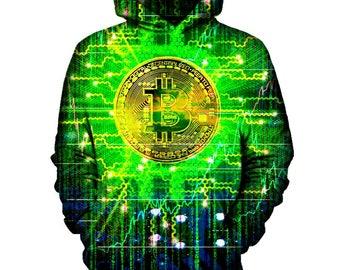Bitcoin Tech Hoodie   Rave, EDM, Festival Hoodie