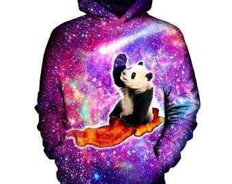 Panda Hoodie   Rave, EDM, Festival Hoodie