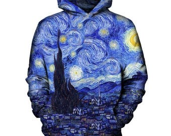 Starry Night Hoodie   Rave, EDM, Festival Hoodie