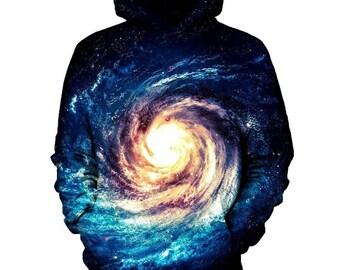 Black Hole Galaxy Hoodie   Rave, EDM, Festival Hoodie