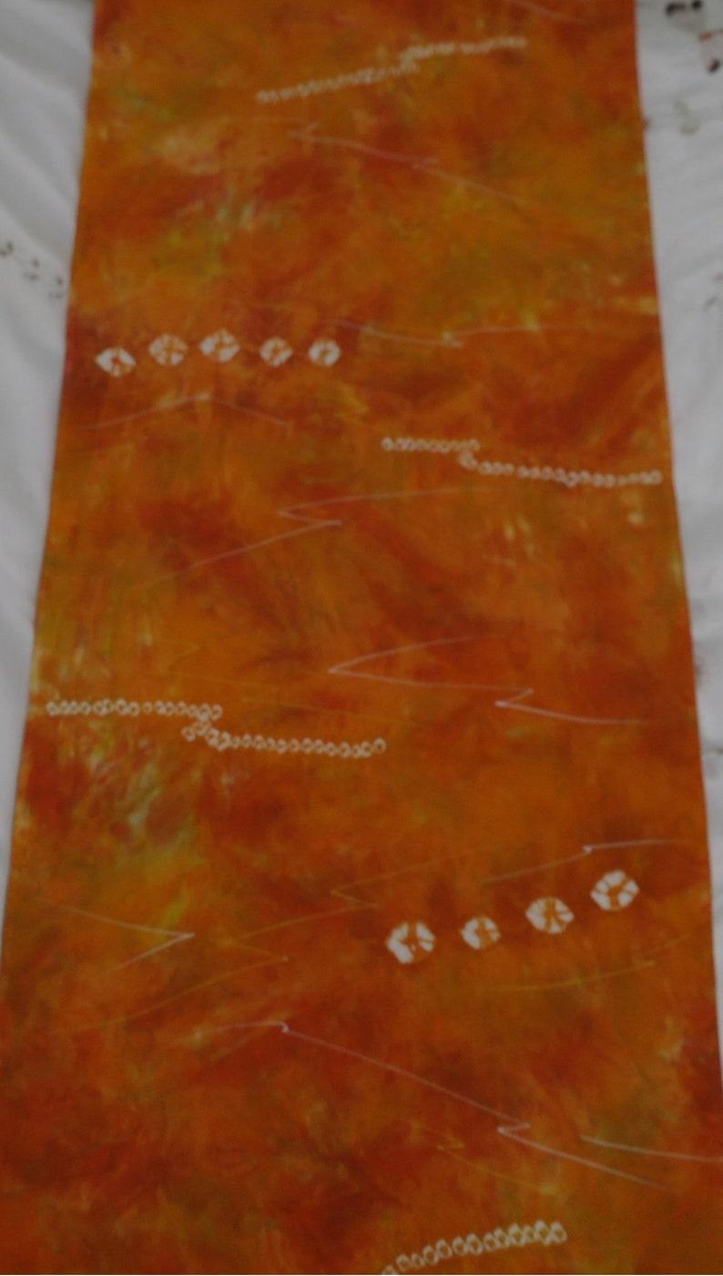 "Japanese vintage kimono silk fabric /""Shibori Cloud/"""