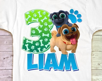 Puppy Dog Pals Birthday Shirt, Puppy Dog Pals Party Tshirt, Puppy Dog Pals Outfit, Puppy Dog Pals Tee