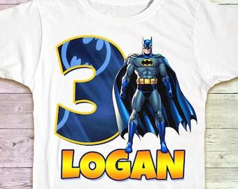 Batman Birthday Shirt Tshirt Outfit Party