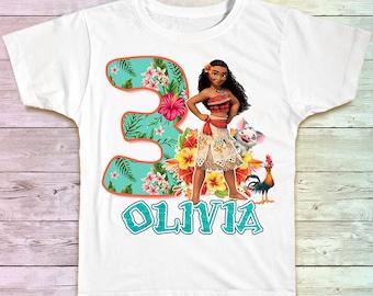 Moana Birthday Shirt, Moana Maui Family Birthday Tshirt, Matching Shirts, Moana Mommy Birthday Party Shirt , Moana Daddy Birthday Shirt