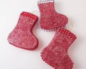 Stocking Christmas Decorations, Christmas Ornaments, Red Tree Decorations, Hangings, Tree Ornaments, Christmas Bauble, Stocking Hangings