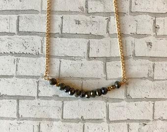 Mystic Spinel 14K Gold Filled Necklace