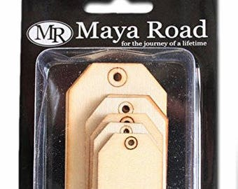 Maya Road: Wood Shipping Tags