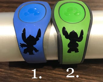 Stitch - Walt Disney World -  Magic Band Decals - fits 1.0 and 2.0