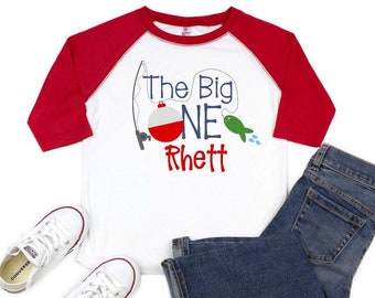 The Big One First Birthday Shirt Fishing Outfit O Fish Ally
