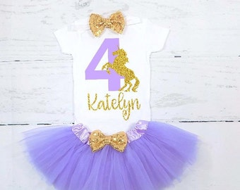 unicorn fourth birthday outfit unicorn 4th birthday outfit unicorn fourth birthday shirt unicorn 4th birthday shirt lavender and gold purple