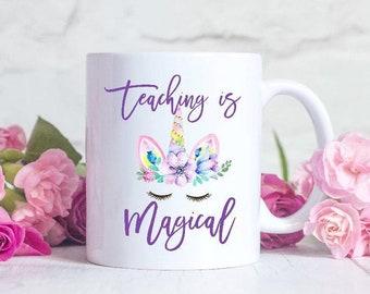 Unicorn teacher mug unicorn teacher gift teacher unicorn gift teacher gift teacher gifts teacher appreciation gift teacher appreciation day