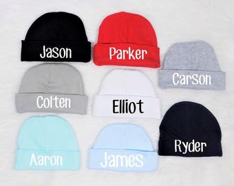 newborn boy hat personalized newborn boy hat personalized baby hat  personalized baby boy hat newborn boy gift newborn boy stocking stuffer 3913102ac90