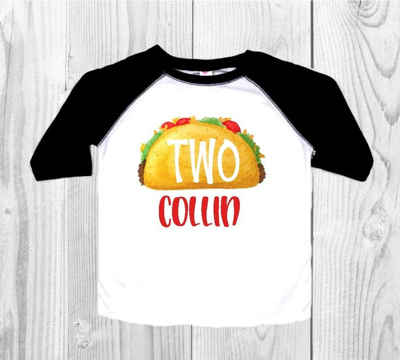 Taco Birthday Shirt Taco Second Birthday Shirt Taco Twosday Etsy