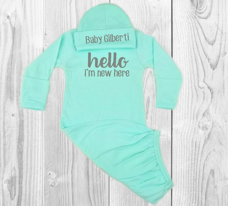 gender neutral coming home outfit gender neutral baby clothes gender neutral baby gift gender neutral baby baby gown baby coming home outfit
