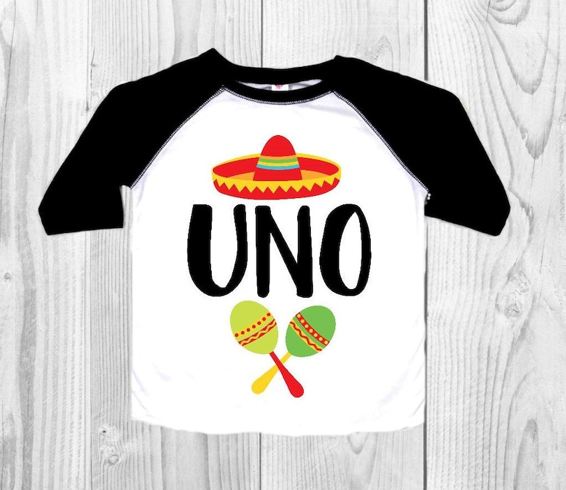 Uno First Birthday Shirt Boys