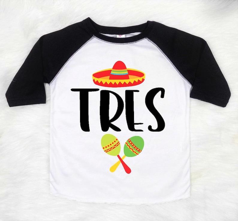 Tres Birthday Third Shirt Boys