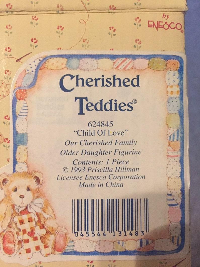 Cherished Teddies 624845 Child of Love DAUGHTER figurine EASTER