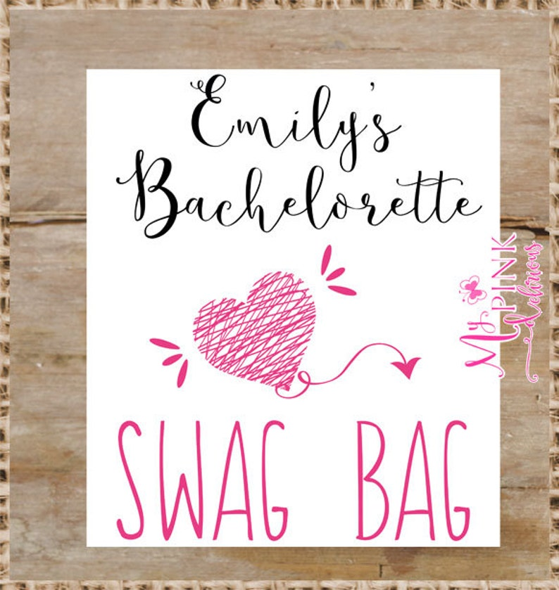 Bachelorette favor bag Bridal shower gifts Personalized  Tote Bag  Wedding  Welcome Bags Bachelorette Party Gift Swag Bag
