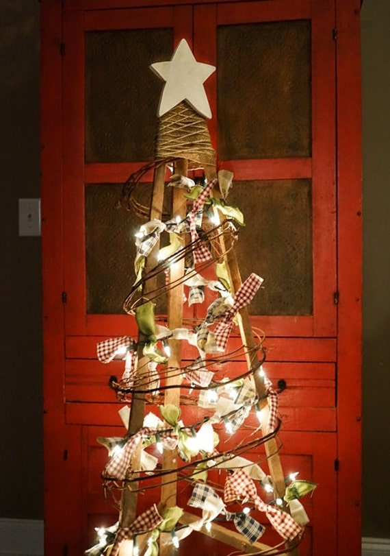 image 0 - Primitive Christmas Trees