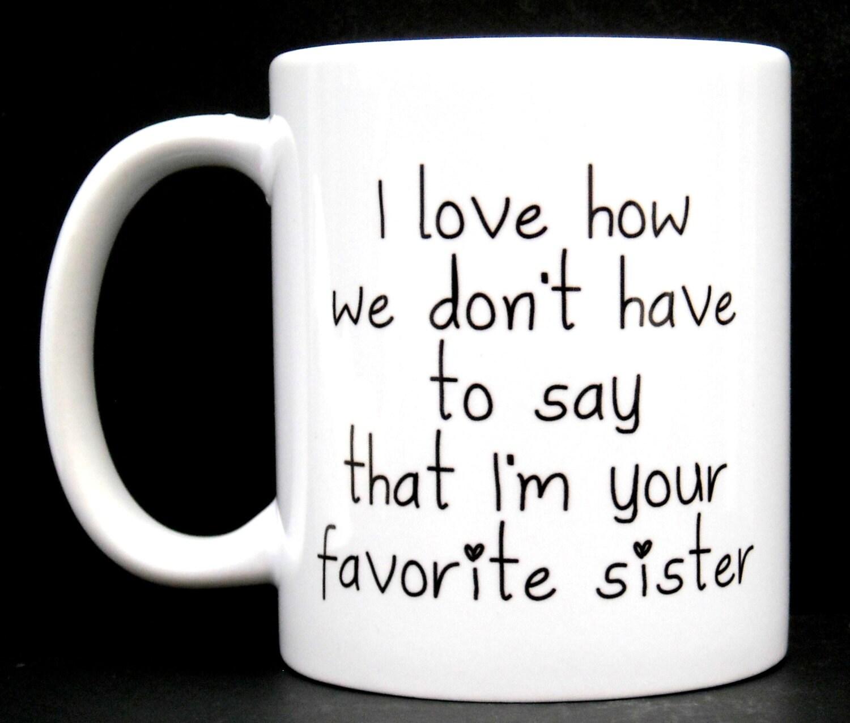 Schwester Geburtstag Geschenk für Schwester lustige Schwester | Etsy