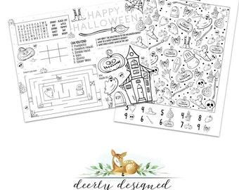 Halloween Activity Pages for Kids - Booed Treat Basket - Halloween Party - Halloween School Party - Halloween Treat basket - Coloring Page