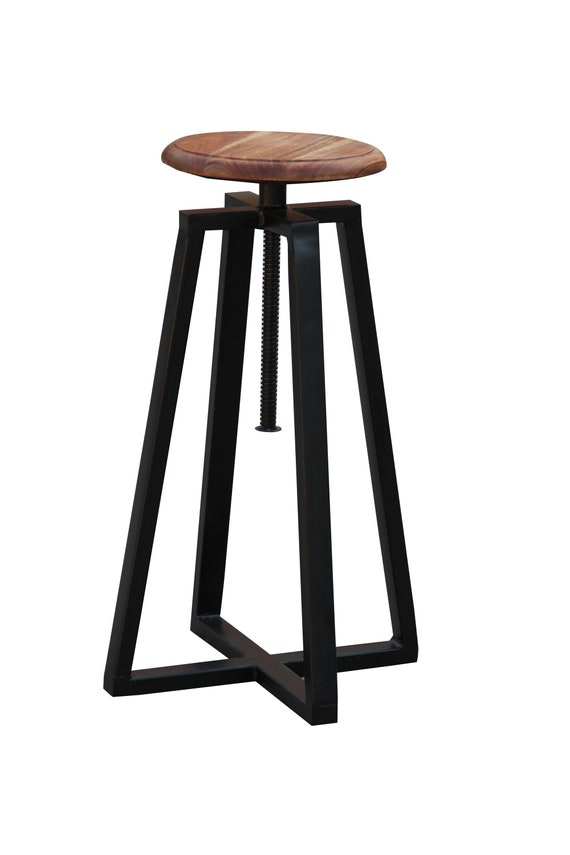 Marvelous Live Edge Side Table Hairpin Leg Stool Chair Round Stool Black Seat Foldable Kitchen Chair Counter Barstool Seat Gmtry Best Dining Table And Chair Ideas Images Gmtryco