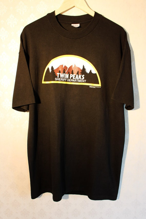 1990 Twin Peaks Vintage Single Stitch Original TV