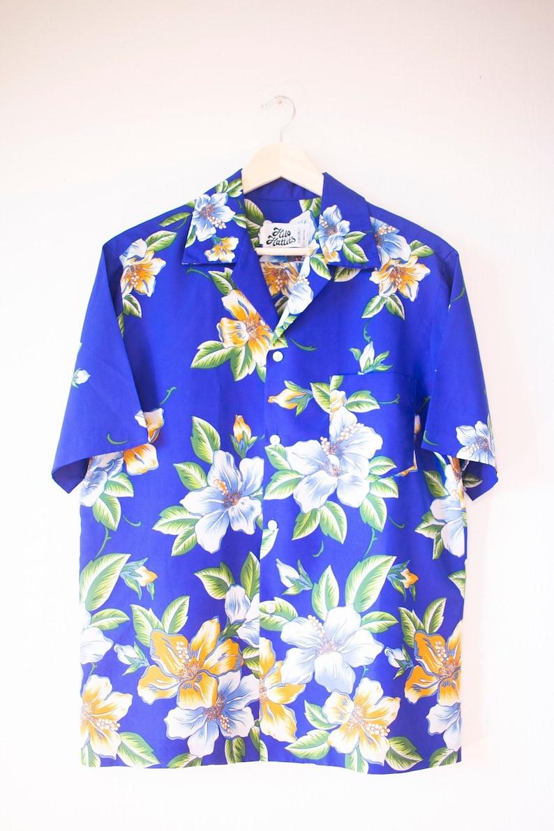 2537391b 1970s Hilo Hattie's Aloha Shirt XL Vintage Made in Hawaii   Etsy