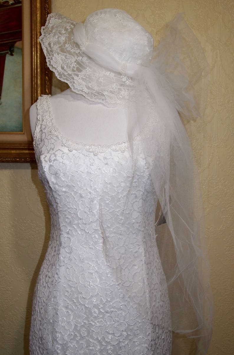 519464c58f6 NEW w Tags JESSICA McCLINTOCK EMBROIDERED Lace Wedding Gown