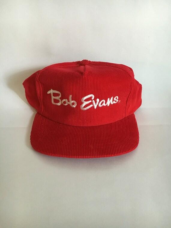 30e9f2b7c0e Vintage Bob Evans Corduroy Trucker Hat