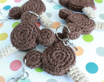 Mickey Mouse Ice Cream Key Chains