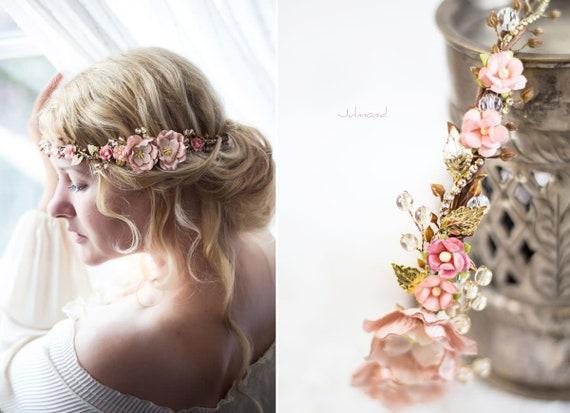 Romantischer Blumenkranz | Haarband
