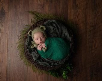 Bird Nest Newborn Prop,Newborn Basket,vintage Photo Prop Basket bowl,Nest Twig boat Newborn Photography Wood Nest Twig nest Newborn