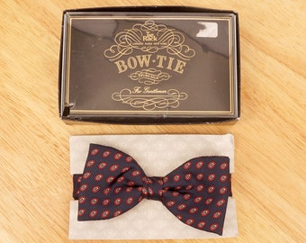 d4d45c82d7fb Black Velvet Bow Tie || Vintage || C&A Made in UK || Original box