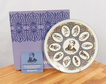 Vintage The Remarkable World of Charles Dickens Collector Plate Mr Pickwick and Friends Wedgwood