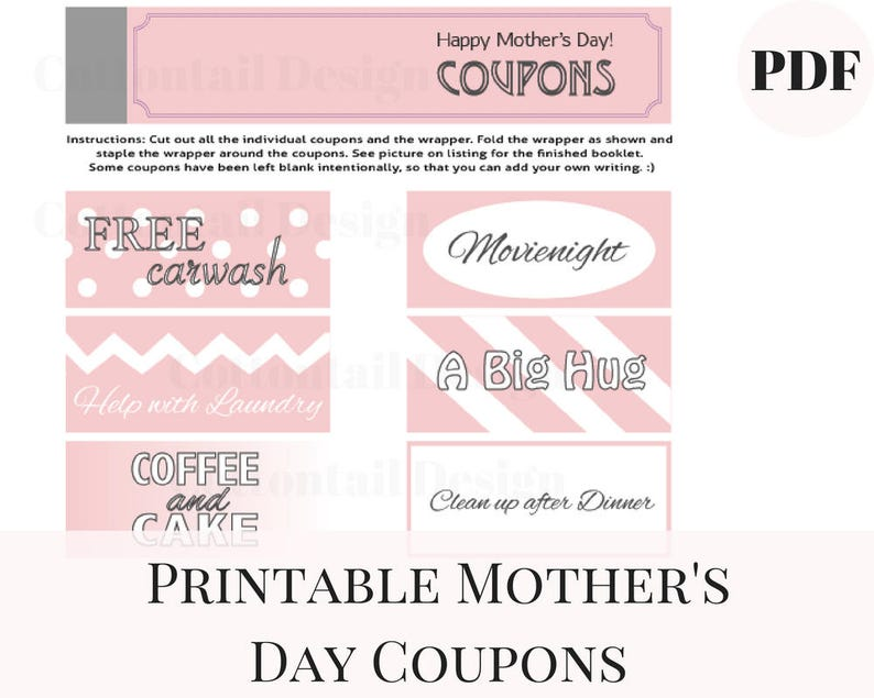 photograph about Staple Printable Coupons called Moms Working day Coupon codes, Printable Coupon codes, Moms Working day Printable, Moms Working day Present Lovely, Moms Working day against Daughter, Moms Working day Do it yourself