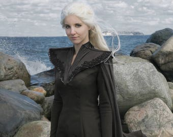 Game of Thrones Westeros Dress - Daenerys Dragon Scale Cosplay Costume