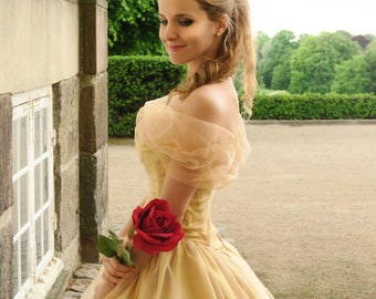 Princess Belle Gown - Beauty and the Beast Costume Ball Dress