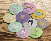 Custom badges, Personalis...