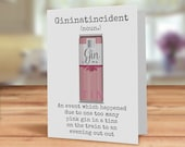 Funny Pink Gin in a tin c...