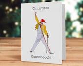 Freddie Christmas card, Q...