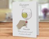 Gin card, gin card for fr...