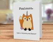 Fox card, Foxicorn card, ...